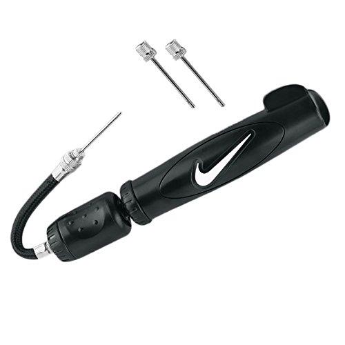 Nike dual action Pompa per palloni - nero e bianco, Misura unica, -