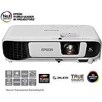 Epson EB-X41 3LCD, 3600 Lumens, 300 Inch Display, XGA Projector - White