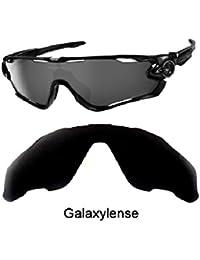 galaxylense Hombre Lentes De Repuesto Para Oakley Jawbreaker Gafas de sol  color negro 3ce81d23697