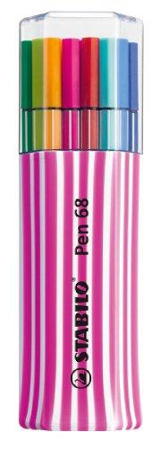 Premium-Filzstift - STABILO Pen 68 - 15er Single-Pack - pink