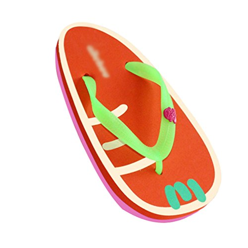 Yiiquan Tongs Fruit Impression Sandales Femmes Talon Plat Flip Flops Slippers Style 2