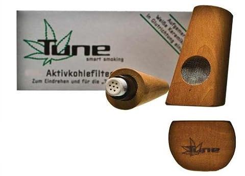 Tune Pfeife aus Birnenholz - Mehr Rauchgenuss durch Aktivkohle -