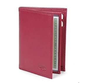 Katana - Porte cartes Portefeuille en Cuir rouge - PM - Kt553046