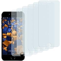 mumbi CrystalClear 3D Touch Displayschutzfolie iPhone 6 / 6s (6er Set)