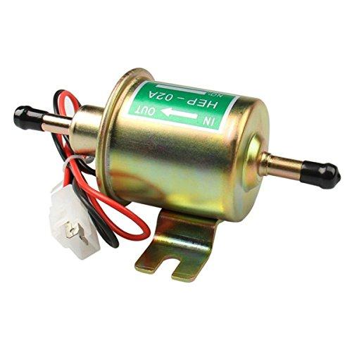 Preisvergleich Produktbild Holdlebe Universal 12V / 24V Kraftstoffpumpe Benzin Diesel Pumpe Elektro-Pumpe HEP-02A