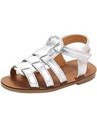 dd0d22526ea sandalias niña Xinantime Sandalias de verano Toddler Kids Baby Girls  Sandalias Sandalias de playa Zapatos de