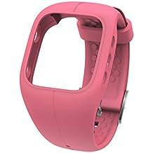 Polar A300 - Correa de silicona, color rosa