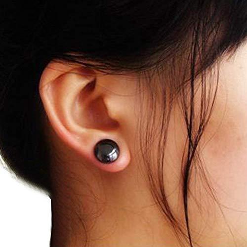41Kl ZmAiQL - Pendientes magnéticos - Clip de oreja Dewin para pérdida de peso, como masaje de acupuntura, salud de oreja eliminar aretes, adecuado para mujeres y hombres