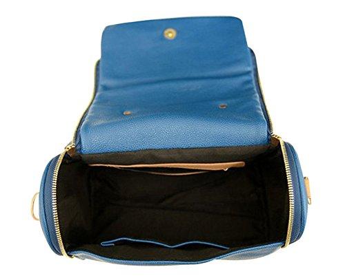 Blue Vessel NEUE Lady Frauen Handtasche Schultertaschen Tote Handtasche Satchel Blau