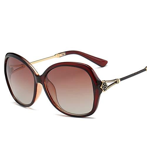 GEETAC Damen Aviator Sonnenbrille - Polarized UV 400 Protection Übergroße Fashion Driving Beach Sonnenbrille für Damen,Metallic