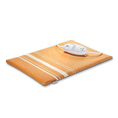 Beurer HK 35 Heizkissen, kuscheliges Wärmekissen mit 3 Temperaturstufen, Abschaltautomatik, Bezug maschinenwaschbar