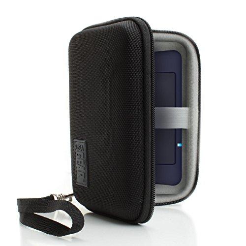 Galleria fotografica USA Gear Custodia Rigida Borsa Protettiva per Router Wifi Portatile Pocket Hotspot per TP-Link M7350 , Huawei , Netgear , Vodafone e altri