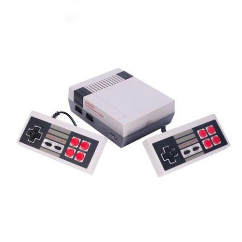 Zantec Family Game console - clásico juego consolas sistema profesional para nes Game Player + construido en 600 TV video juego con controladores dobles, Normal