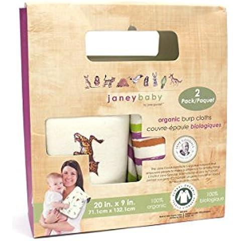 Bebé Paños para bebés–100% algodón orgánico (Pack de 2)–regalo A bebé