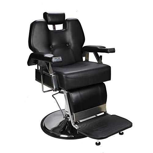 Barberpub poltrona da parrucchiere poltrona da lavoro sedia operativa attrezzature per parrucchiere sedia idraulica 2801bk