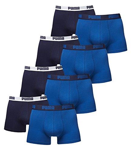 8 er Pack Puma Boxer shorts / Blau / Size XXL / Herren Unterhose
