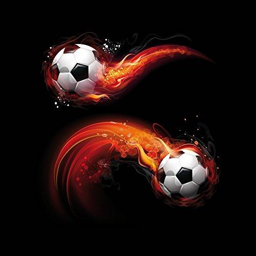 Apple iPhone 4 Case Skin Sticker aus Vinyl-Folie Aufkleber Fußball Sport Ball DesignSkins® glänzend