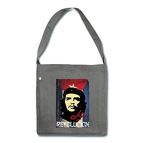 Révolutionnaire Cubain - Che Guevara Drapeau Cubain Revolución Sac bandoulière