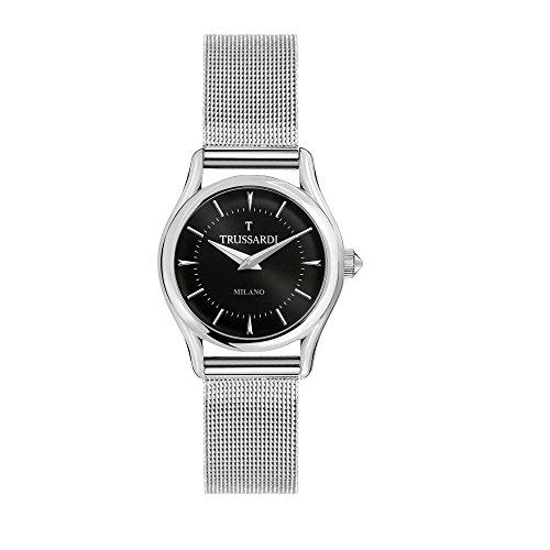 TRUSSARDI Reloj Analógico para Mujer de Cuarzo con Correa en Acero Inoxidable R2453127504