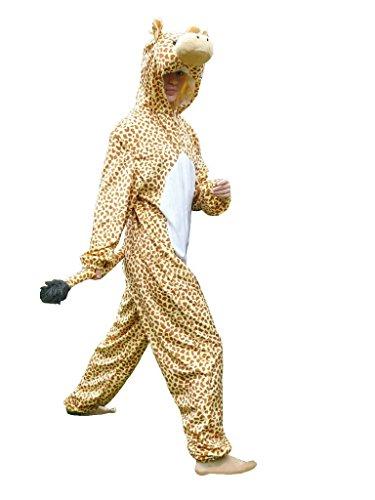 J24/00 Gr. XL Giraffe Kostüm für Fasching und Karneval, Kostüme für Frauen Männer Erwachsene Paare, Faschingskostüm, (Paare 20 Besten Kostüme)