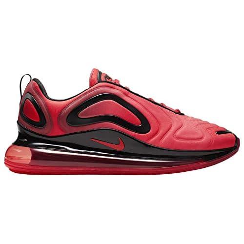 41Kl7M0yCUL. SS500  - Nike Men's Air Max 720 Bright Crimson/Black/Ember Glow Mesh Running Shoes 10 M US