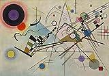 Migneco & Smith l'Affiche ILLUSTRE'E Kandinsky Composition VIII cod. 0090127/a (cm.60 x 90) Stampa Artistica Carta gr.240