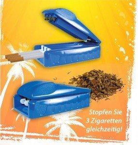 Nass Hülsen Stopfgerät (3-Fach) (Zigaretten Kaufen)