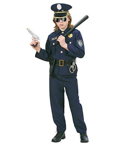 Imagen de widman  disfraz de policía para hombre, talla 5  7 años 73166  alternativa