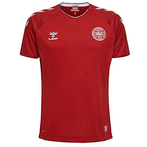 Hummel 2018-2019 Denmark Home Football Shirt