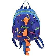 Mochila de dinosaurio Mochila para niños, mochila de dibujos animados, merienda, bolsa de