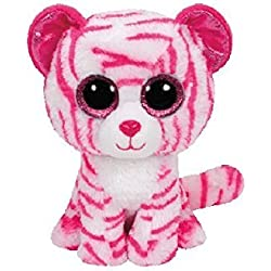 TY - Beanie Boos Asia, tigre, 40 cm, color blanco / rosa (United Labels Ibérica 37057TY)