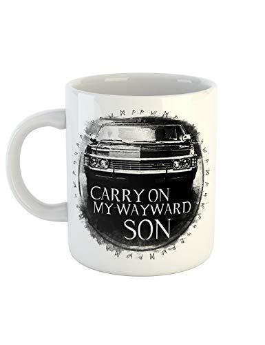 mit Aufdruck Carry On Wayward Son ()