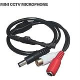 Microphone pour videosurveillance avec prise camera