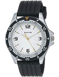 Sonata Super Fibre Analog Black Dial Men's Watch -NH7930PP01C