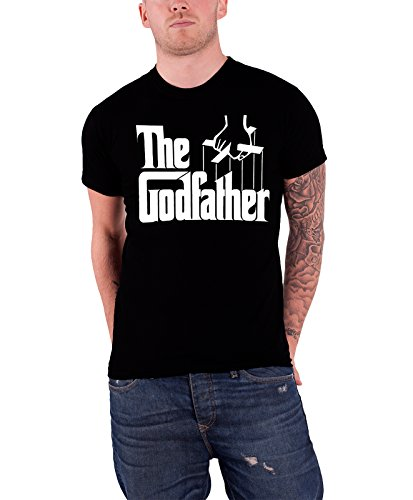 The Godfather Logo offiziell Herren Nue Schwarz T Shirt
