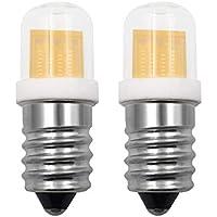 Bombilla LED pequeña E14 SES de 4 W, luz blanca cálida, reemplazo de 30