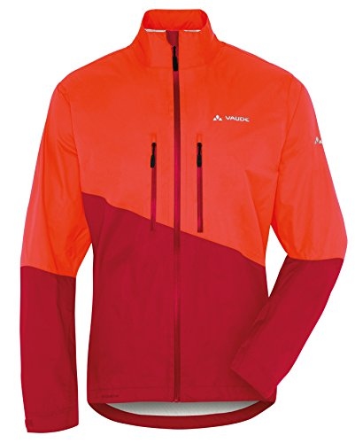 VAUDE Herren Jacke Tremalzo Rain Jacket Glowing Red