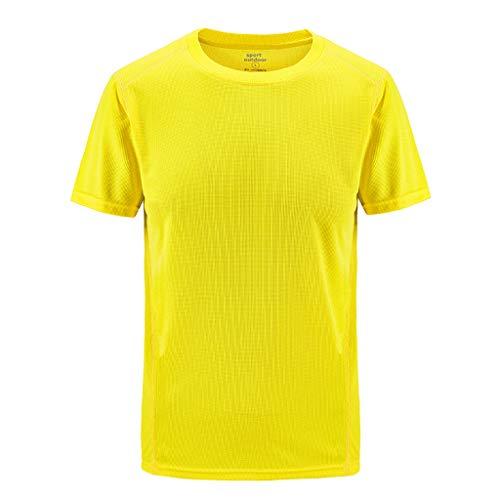 Innerternet Herren T-Shirt Biläufige Outdoor-T-Shirt für Herren Modern Rundhals Kurzarmshirt Plus Size Sport Fast-Dry Breathable Tops Täglichen Shirt Rundhals Figurbetont L-8XL -