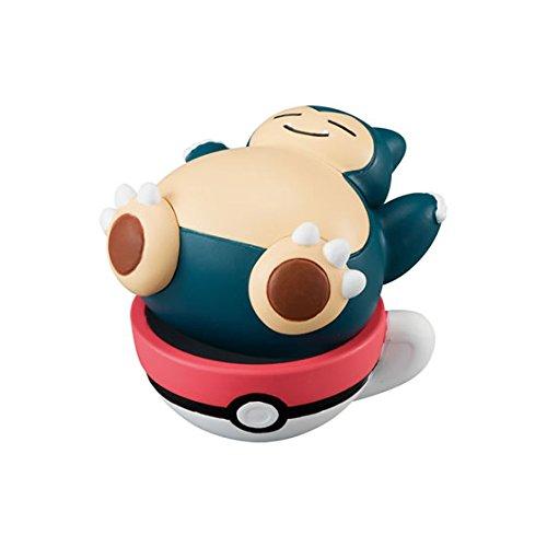 Preisvergleich Produktbild Pokemon X.Y.Z Tea Time Mascot Figure Part 2~Kabigon Snorlax Relaxo