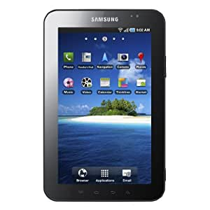 Samsung Galaxy Tab P1010 Tablette PC -16 Go Wi-Fi Bluetooth 2.1 Android 2.2 Noir/Blanc