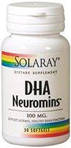 Dha Neuromins 30 cápsulas de 100 mg de Solaray