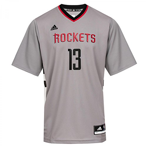 NBA Basketball T-shirt Houston Rockets Nr. 13 Harden, Grau, XL