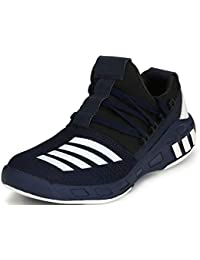 Anshul fashion Shoe Fab Branded Men Supersoft Blue Running Sports Shoes Touchwood Mens Shark Sports Shoes for Running/Jogging