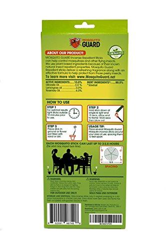 Zoom IMG-1 mosquito guard incenso repellente 100