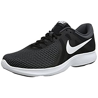 Nike Revolution 4, Herren Laufschuhe, Schwarz (Black/White/Anthracite 001), 45 EU (10 UK)