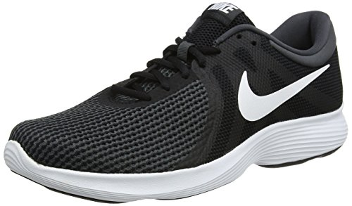 Nike Revolution 4, Herren Laufschuhe, Schwarz (Black/White/Anthracite 001), 45 EU (10 UK)