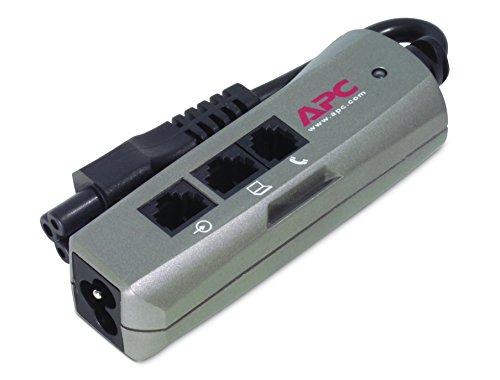 APC Notebook Surge Protector - Protección contra sobretensiones para AC y teléfono