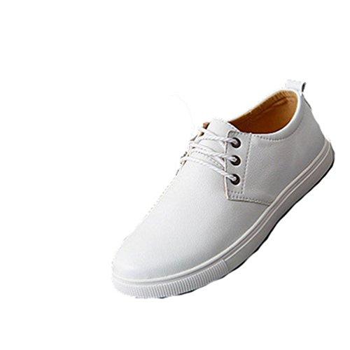 XIGUAFR Chaussure de Sport de Plaque Légères Homme Chaussure Casual de Ville Résistant à L'Usure