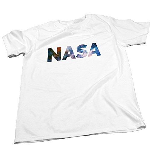 NASA T-Shirt / Raumfahrt / Space / Größe XS-4XL / Ideales Geschenk Weiß