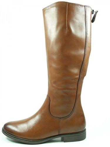 bottes bottines cuir XS 25504 femme Tamaris 29 arbre Braun 1 qBxn4wwtf